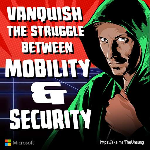Vanquish the struggle between mobility and security