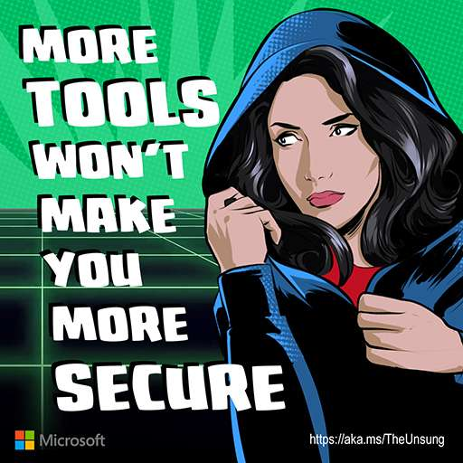 More tools won't make you more secure