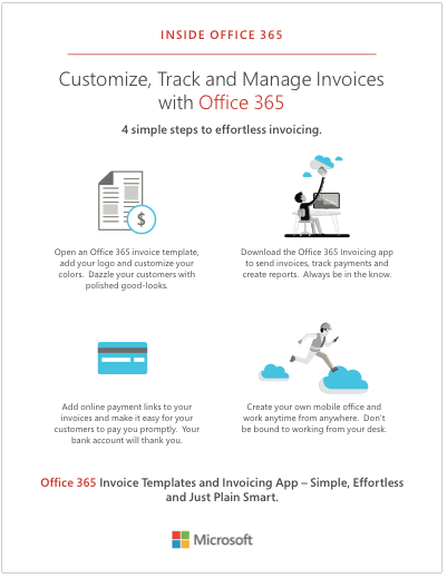Office Invoice App Integration Training Manage Track And - Invoice 365